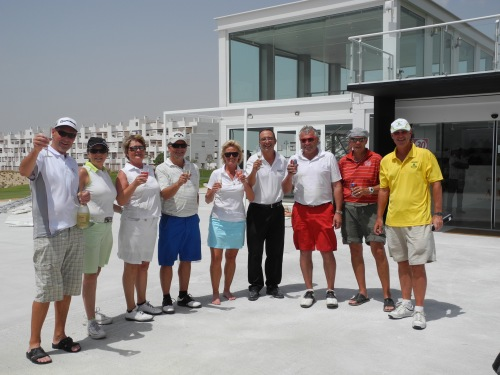 July 2012.....the clubhouse opens!.........