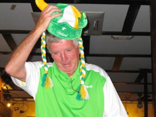 Fred organised the Irish knees up.......