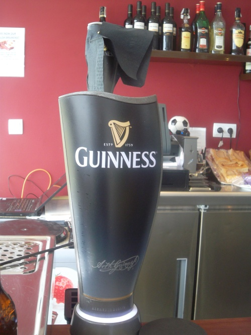 St Pat's Day ...... a pub without Guinness?