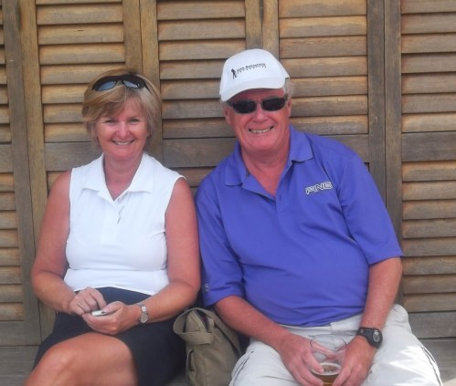 Colin & Lynda's last day before flying home......