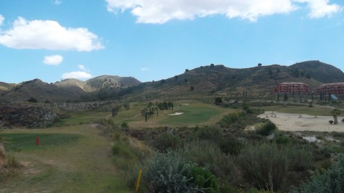 great course, fantastic scenery......