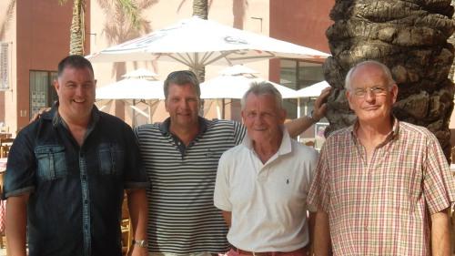 Scott, Graham, Jim and Ray...........