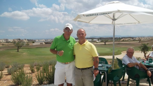 Dave Cooke has had a great week .......reduced his handicap twice!...........