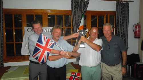 the organisers.....Jan H Olsen, Jan Skjold, Dave Lloyd, Graham White.....