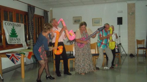 the band were really going for it.......
