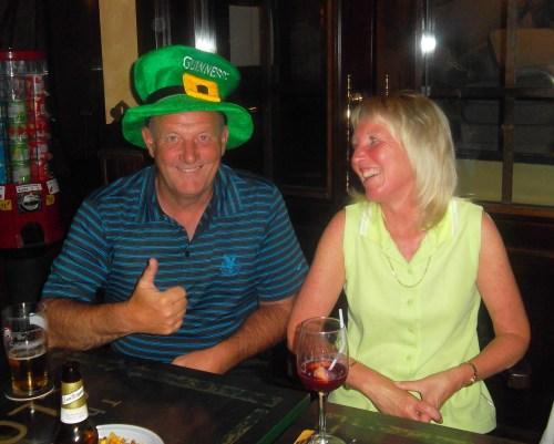 Dave is half Irish because he likes guinness........