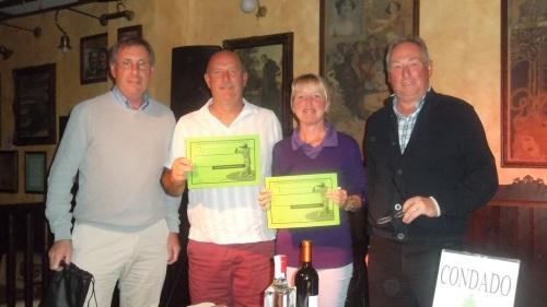 winners Dave & Kim.........