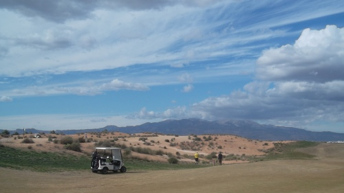 a few clouds over the sierra espuna..........