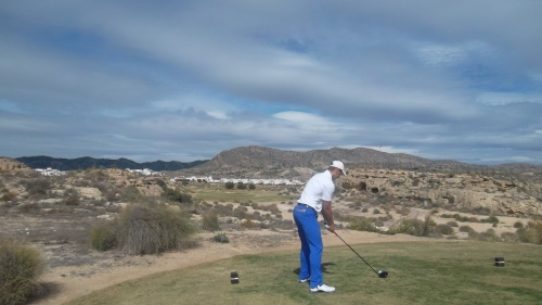 back tee on par 5 16th at El Valle........