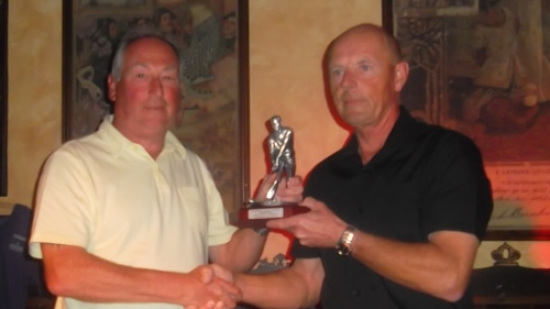 Mick Parsons was the winner of the eclectic competition........