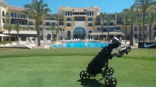 so nice to reach the 18th at Mar Menor.........