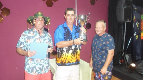Neil wins his second major trophy............