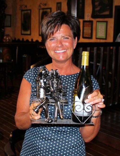 Mona Johannsen won the ladies division last week.......