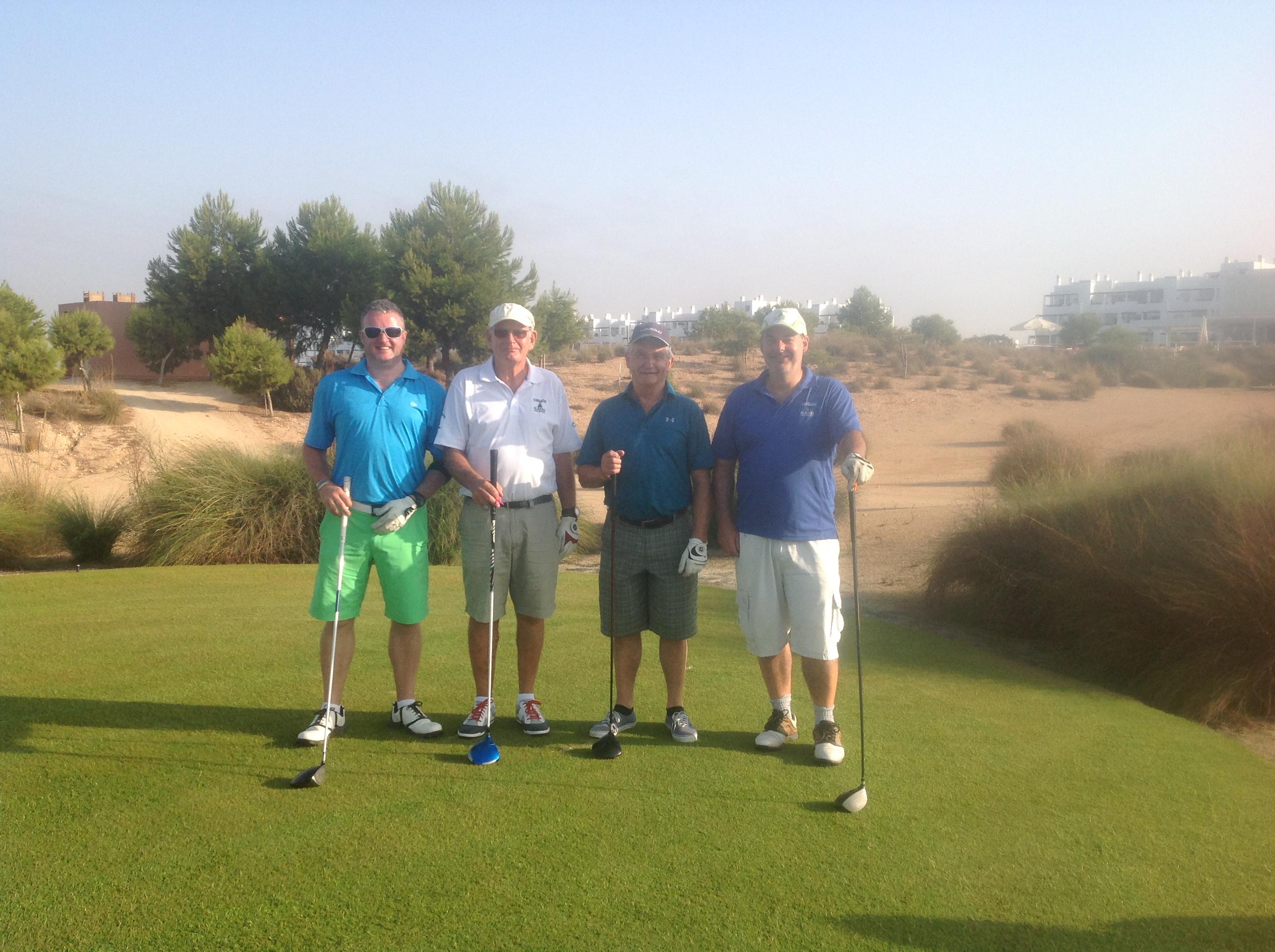 Dave Smith Cda >> Clark Fun Day Fourballs | Condado de Alhama Golf Society
